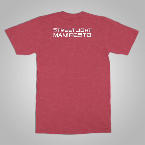 "Streetlight Manifesto ""Spiral"" T-Shirt (Heather Red)"