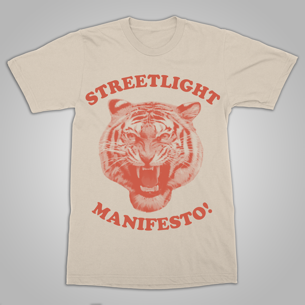 "Streetlight Manifesto ""Tiger"" T-Shirt (Natural) SOLD OUT"
