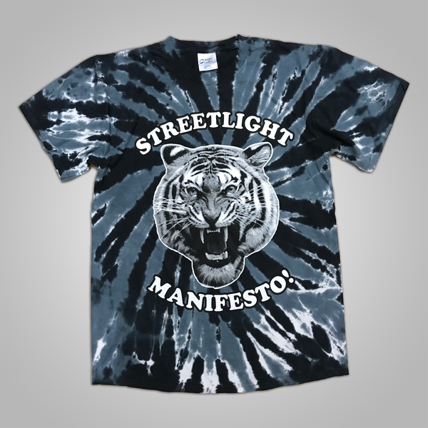 "Streetlight Manifesto ""Tie Dye Tiger"" T-Shirt SOLD OUT"