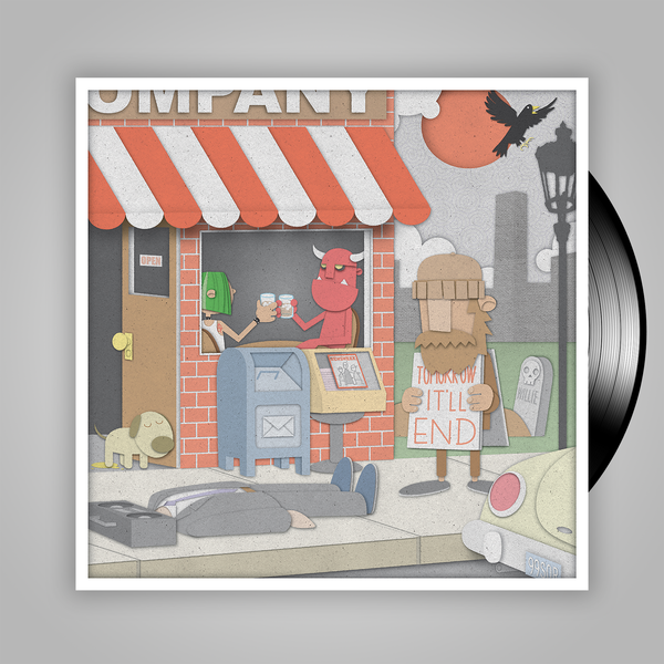 Streetlight Manifesto '99 Songs of Revolution Vol. 1' VINYL LP (Independent Release)
