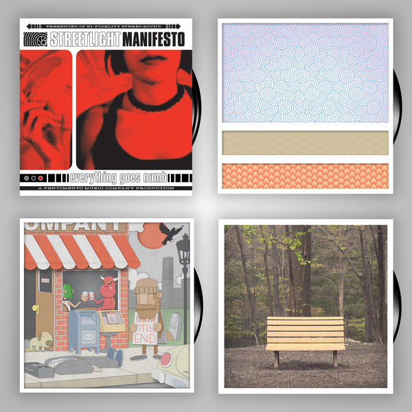 Streetlight Manifesto Vinyl Collection (4 Vinyl LPs - Independent Releases)