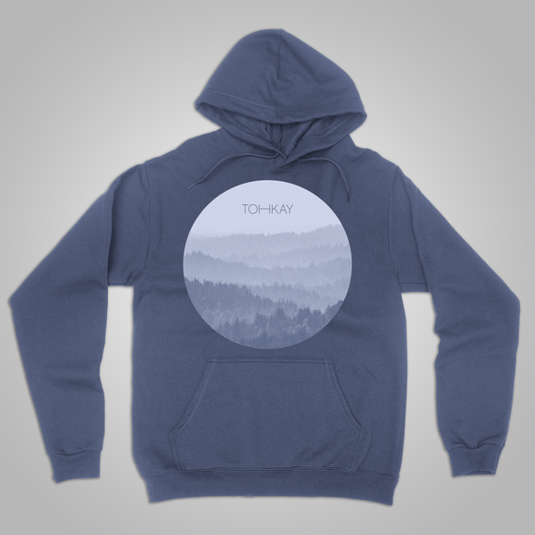 "Toh Kay ""Forest"" Pullover Hoodie (Blue) SOLD OUT"