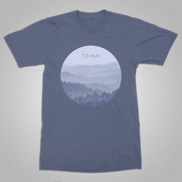 "Toh Kay ""Forest"" T-Shirt (Blue)"