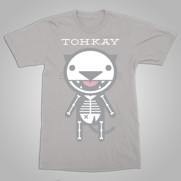 "Toh Kay ""X-Ray Macavity"" T-Shirt (Silver) SOLD OUT"