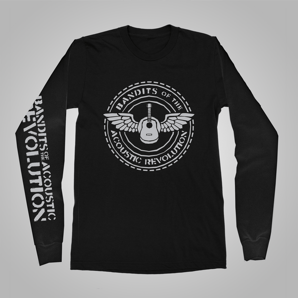 "B.O.T.A.R. ""Round Logo"" Long-Sleeved Shirt (Black)"