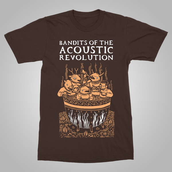 "B.O.T.A.R. ""Cauldron"" T-Shirt (Brown)"