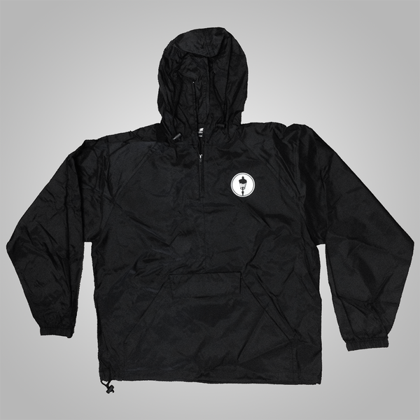 "Streetlight Manifesto ""Panther"" Pullover Windbreaker (Black)"