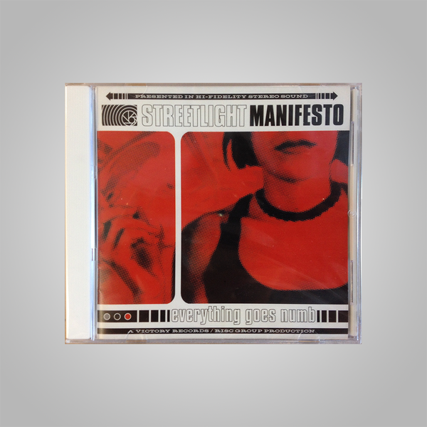 "Streetlight Manifesto ""Everything Goes Numb"" CD"