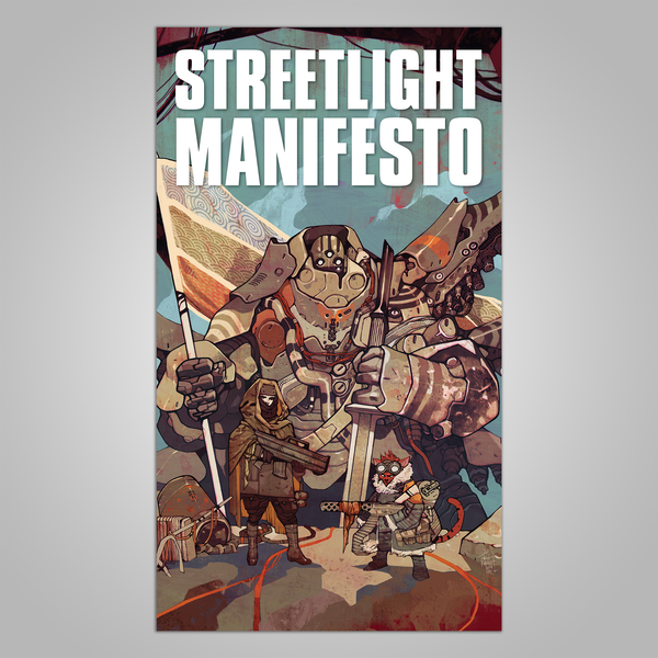 "Streetlight Manifesto ""Somewhere In The Between Tour"" FLAG"