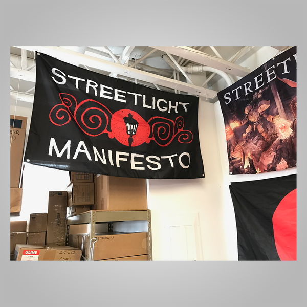 "Streetlight Manifesto ""Ornate"" Flag (Sold Out)"