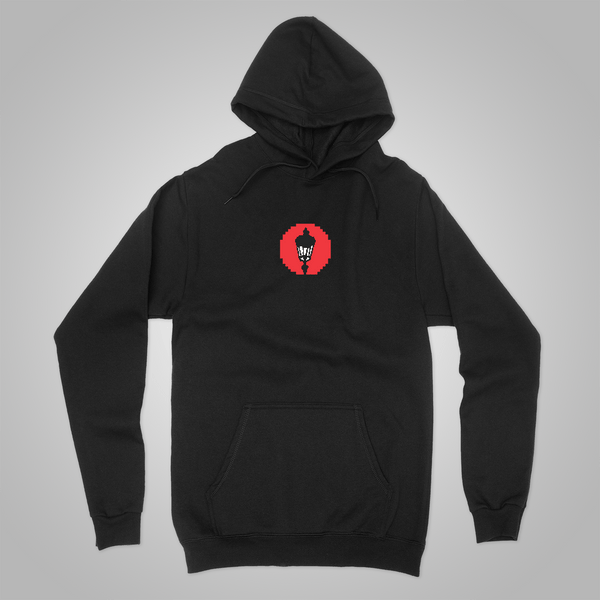 "Streetlight Manifesto ""Nintendo"" Pullover Hoodie (Black) SOLD OUT"
