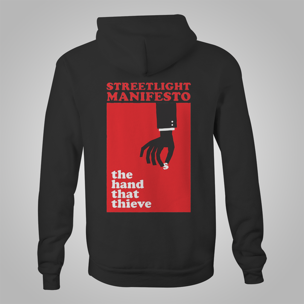 "Streetlight Manifesto ""Hands That Thieve"" Zip Hoodie"