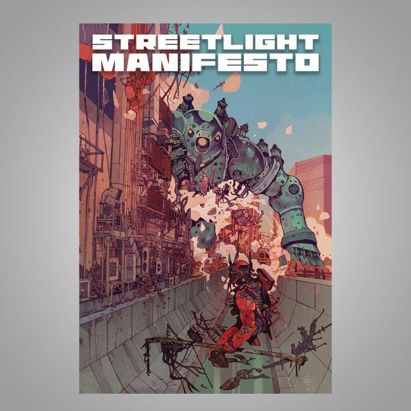 "Streetlight Manifesto ""Last Good Fight - Leg Two"" 2015 Tour Poster"