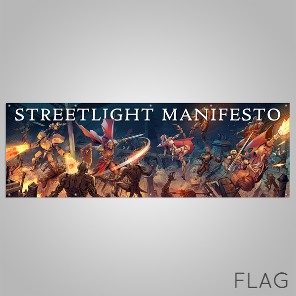 "Streetlight Manifesto ""Year With No End Tour"" Banner FLAG"