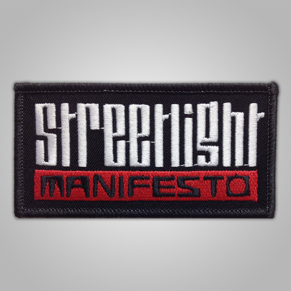 "Streetlight Manifesto ""Logo"" Patch (Sold Out)"