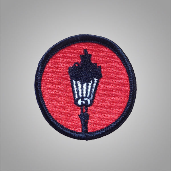 "Streetlight Manifesto ""Streetlamp"" Round Patch (Sold Out)"
