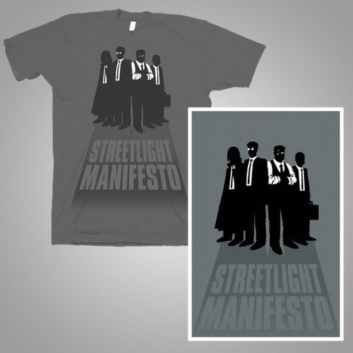 "Streetlight Manifesto ""Silhouette Gang"" T-Shirt & Screenprint Poster Bundle"