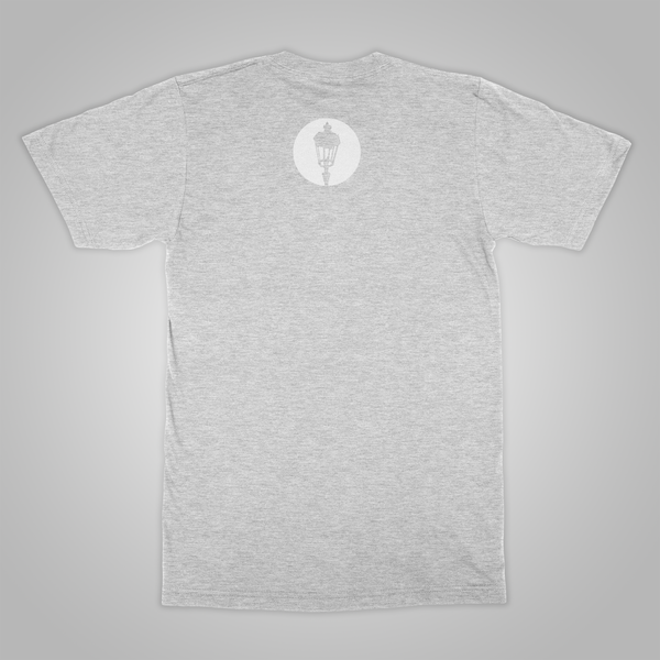 "Streetlight Manifesto ""Eagle"" T-Shirt (Heather Grey)"