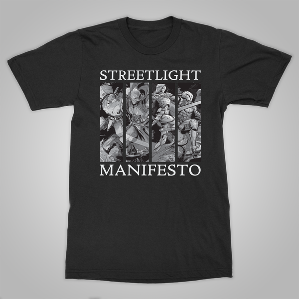 "Streetlight Manifesto ""Year with No End Tour"" T-Shirt (Black)"