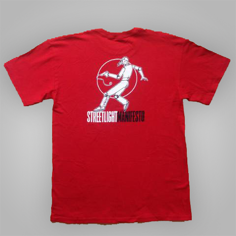 "Streetlight Manifesto ""Jumping Woman"" T-Shirt (Red)"