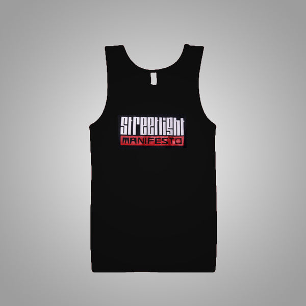 "Streetlight Manifesto ""Logo Tank"" Tank Top (Black)"
