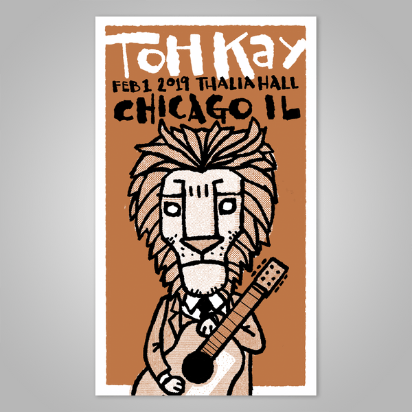 "Toh Kay Trio plus String Quartet ""CHICAGO"" Signed Screen Print Poster (2019)"