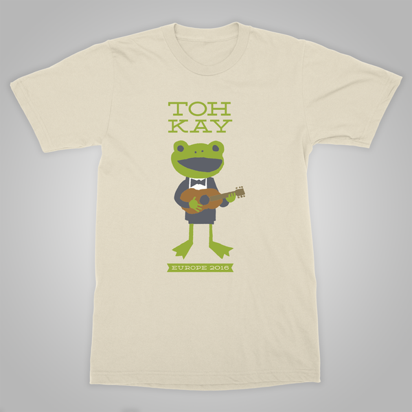 "Toh Kay ""The Other Side of the Pond Tour"" T-Shirt (Natural)"