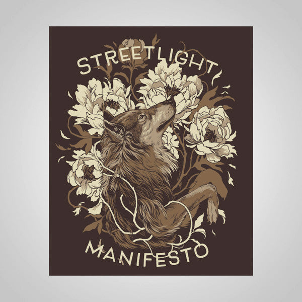 "Streetlight Manifesto ""Wolf"" T-Shirt & Screenprint Poster Bundle"