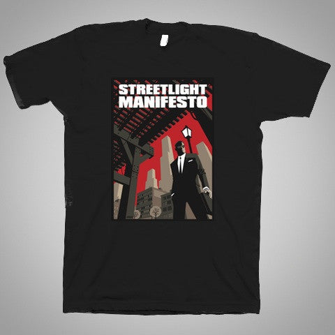 "Streetlight Manifesto ""100 Bullets"" T-Shirt SOLD OUT"