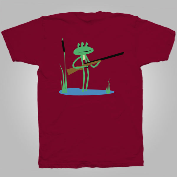 "Streetlight Manifesto ""Trombone Frog"" T-Shirt (Independence Red)"