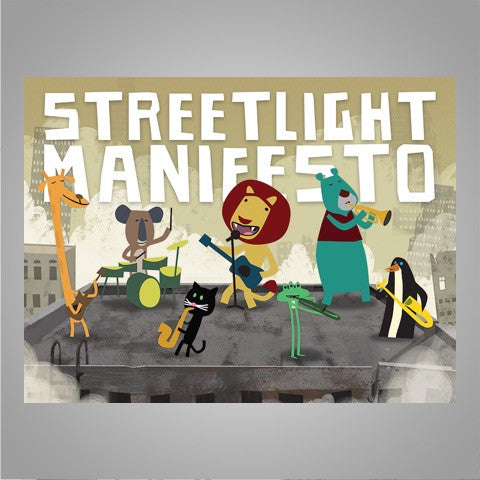 "Streetlight Manifesto ""Would You Be Impressed?"" Poster"