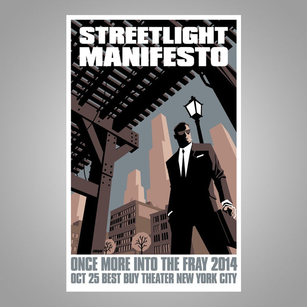 "Streetlight Manifesto ""Into The Fray Tour NYC"" Screen Print Poster"
