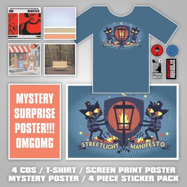 PREORDER Streetlight Manifesto CD ALL OF THE THINGS Bundle (Independent Releases)