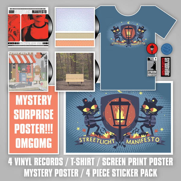 PREORDER Streetlight Manifesto VINYL ALL OF THE THINGS Bundle (Independent Releases)