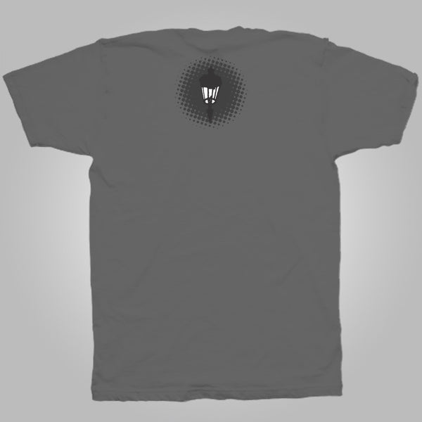 "Streetlight Manifesto ""Silhouette Gang"" T-Shirt (Charcoal Grey)"