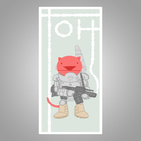 "Toh Kay ""Battle Cat"" Poster"