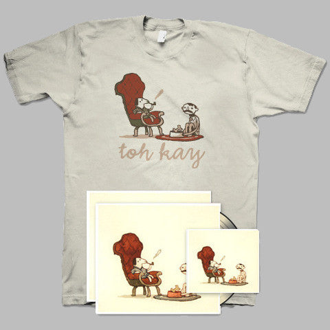 "Toh Kay / Dan P ""You By Me: Vol 1"" Vinyl + T-Shirt + CD"