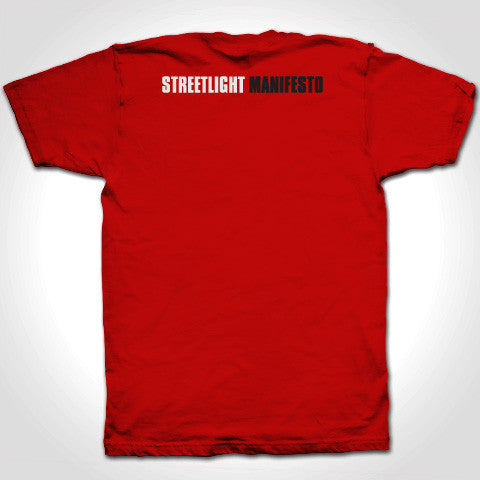 "Streetlight Manifesto ""Everything Goes Numb"" T-Shirt (Red)"