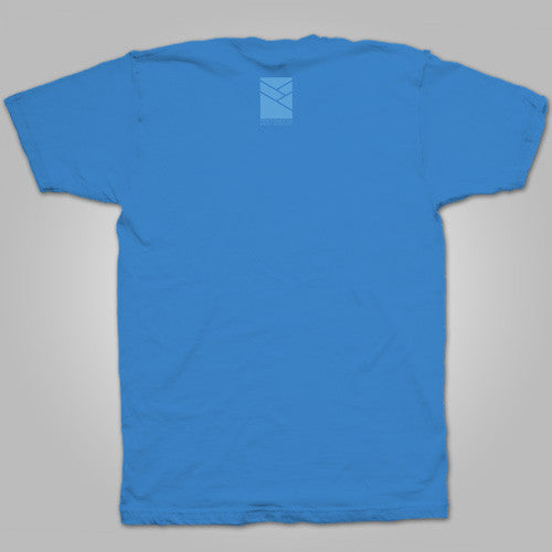 "Pentimento Music Co. ""Round Logo"" T-Shirt (Blue)"