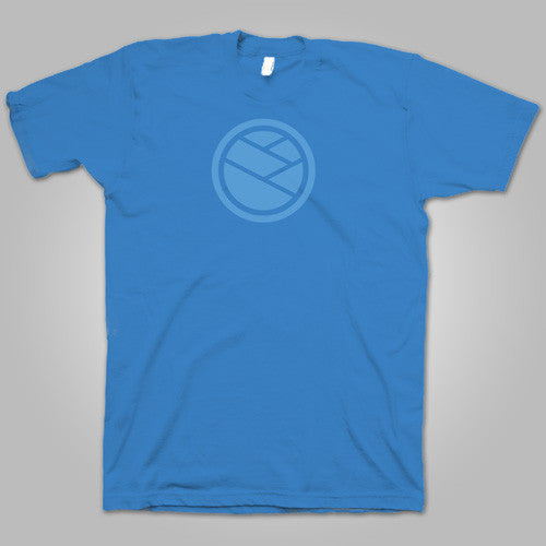 "Pentimento Music Co. ""Round Logo"" T-Shirt (Blue) (Sold Out)"