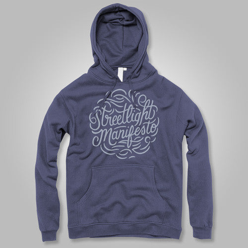 "Streetlight Manifesto ""Calligraphy"" Pullover Hoodie (Sold Out)"