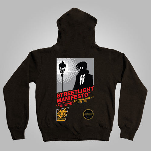 "Streetlight Manifesto ""Nintendo"" Zip-Up Hoodie"