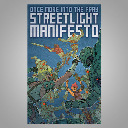"Streetlight Manifesto ""Once More Into The Fray"" Tour Poster"