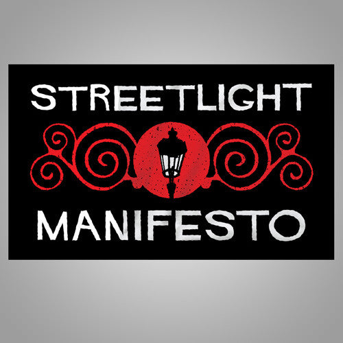"Streetlight Manifesto ""Ornate"" Flag (Black)"