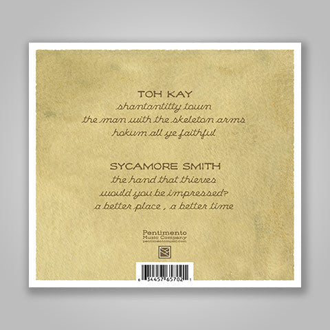 "Toh Kay / Sycamore Smith ""You By Me: Vol 2"" CD"