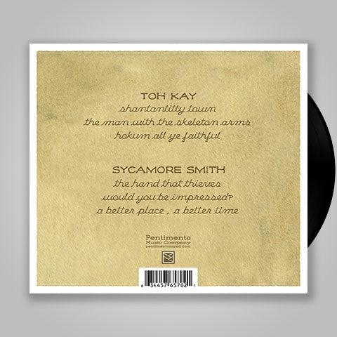 "Toh Kay / Sycamore Smith ""You By Me: Vol 2"" LP Vinyl Record"