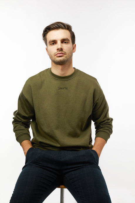 THE UNISEX SWEATER - OLIVE