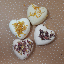 Load image into Gallery viewer, Heart Shaped Bath Bombs