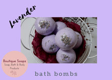 Load image into Gallery viewer, Bath Bombs/Gift Set