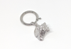 Conch-sciousness Collection - Sterling Silver Bag Charm - Keychain Charm - Dog Collar Charm
